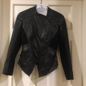 Elite Tahari leather jacket